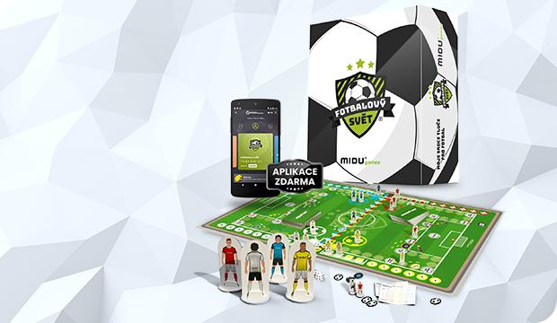 Hra MIDU® Fotbalový svět PRO